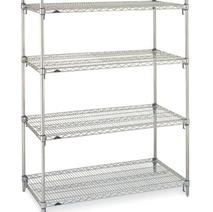 Nexel Wire Shelving | Chrome Wire Shelving